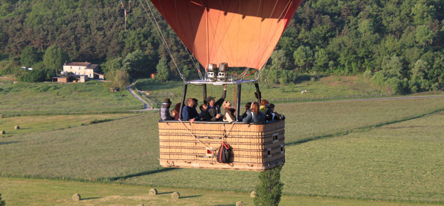 montgolfiere champagne